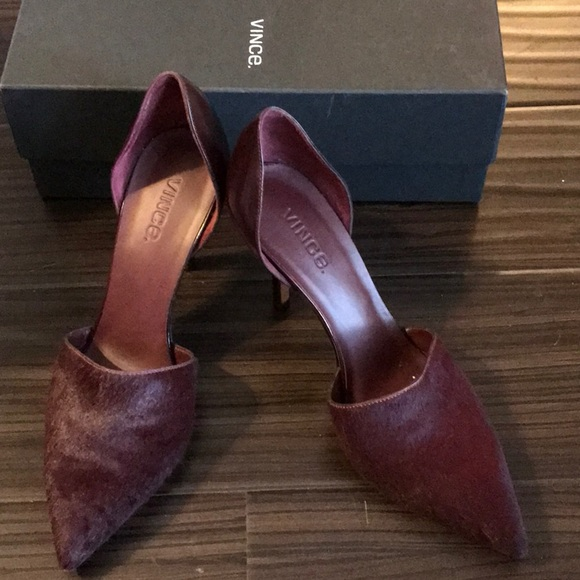 Vince Shoes - Vince Claire Oxblood Pump NEW IN BOX 8